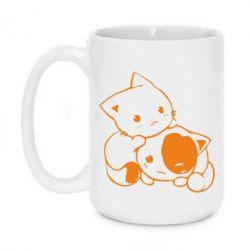 Кружка 420ml кошенята - FatLine