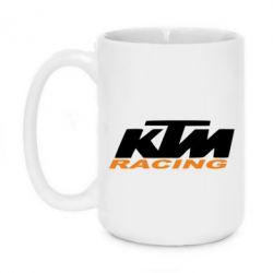 Кружка 420ml KTM Racing - FatLine