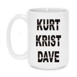 Кружка 420ml KURT KRIST DAVE - FatLine