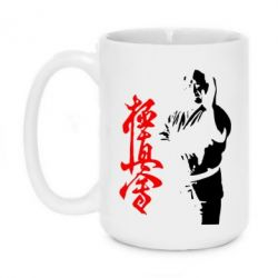 Кружка 420ml Kyokushin Kanku Master - FatLine