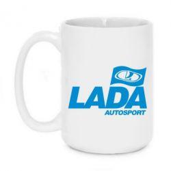 Кружка 420ml Lada Autosport - FatLine