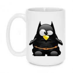 Кружка 420ml Linux+Batman