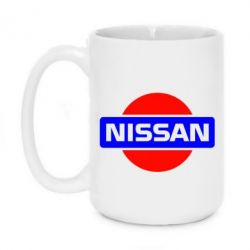 Кружка 420ml Logo Nissan - FatLine