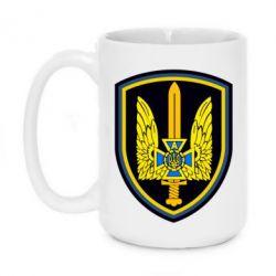 Кружка 420ml Логотип Азов - FatLine