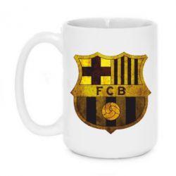 Кружка 420ml Логотип Барселоны - FatLine