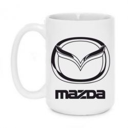 Кружка 420ml Mazda Logo - FatLine