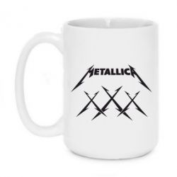 Кружка 420ml Metallica XXX - FatLine