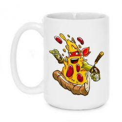 Кружка 420ml Микеланджело кусок пиццы - FatLine