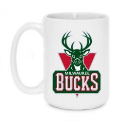 Кружка 420ml Milwaukee Bucks - FatLine