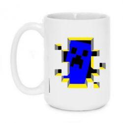 Кружка 420ml Minecraft 3D - FatLine
