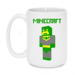 Кружка 420ml Minecraft Batman
