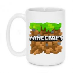 Кружка 420ml Minecraft Main Logo - FatLine