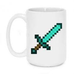 Кружка 420ml Minecraft меч - FatLine