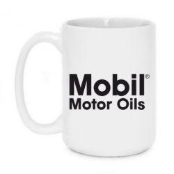 Кружка 420ml Mobil Motor Oils - FatLine