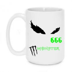 Кружка 420ml Monster Energy Eyes 666