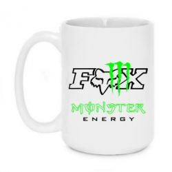Кружка 420ml Monster Energy Fox Logo - FatLine