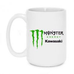 Кружка 420ml Monster Energy Kawasaki