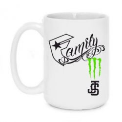 Кружка 420ml Monster Family - FatLine