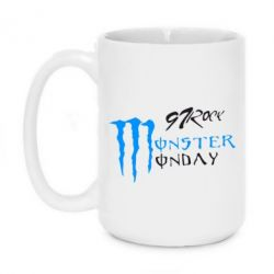 Кружка 420ml Monster Monday Rock - FatLine