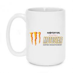 Кружка 420ml Monster Motostar - FatLine