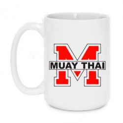 Кружка 420ml Muay Thai Big M - FatLine