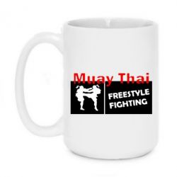 Кружка 420ml Muay Thai Freestyle - FatLine