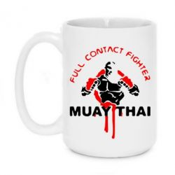 Кружка 420ml Muay Thai Full Contact - FatLine