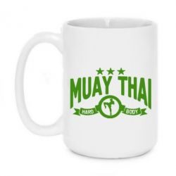 Кружка 420ml Muay Thai Hard Body - FatLine