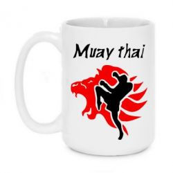 Кружка 420ml Muay Thai Lion - FatLine