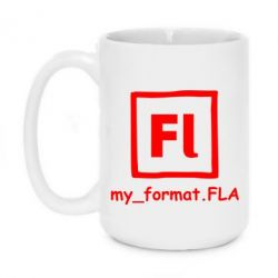Кружка 420ml My format FLA - FatLine