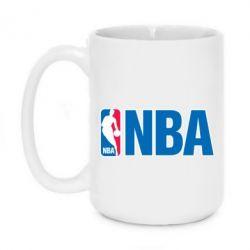 Кружка 420ml NBA Logo - FatLine