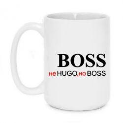 Кружка 420ml Не Hugo, но Boss - FatLine