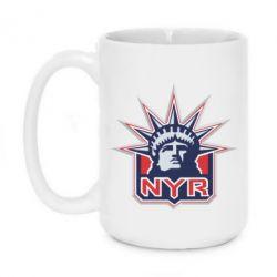 Кружка 420ml New York Rangers - FatLine