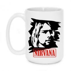 Кружка 420ml Nirvana Kurt Cobian - FatLine