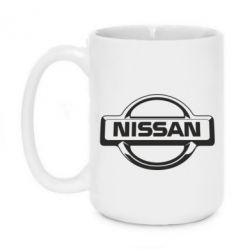 Кружка 420ml Nissan Logo - FatLine