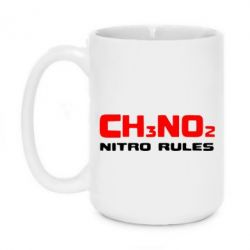 Кружка 420ml Nitro Rules - FatLine