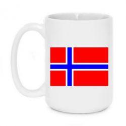 Кружка 420ml Норвегия - FatLine