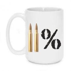 Кружка 420ml Одинадцать процентов - FatLine