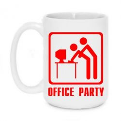 Кружка 420ml Office Party