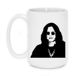 Кружка 420ml Ozzy Osbourne face - FatLine