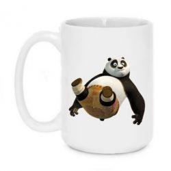 Кружка 420ml Падающая Панда - FatLine