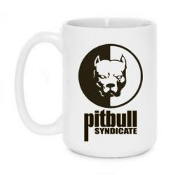 Кружка 420ml Pitbull Syndicate
