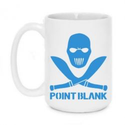 Кружка 420ml Point Blank - FatLine