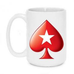 Кружка 420ml Poker Stars 3D Logo - FatLine