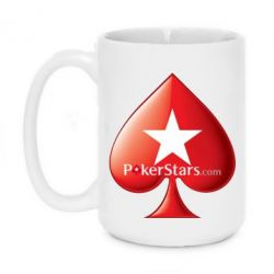 Кружка 420ml Poker Stars Game - FatLine