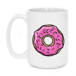 Кружка 420ml Пончик Гомера - FatLine