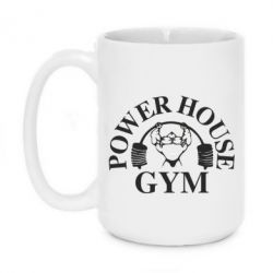 Кружка 420ml Power House Gym - FatLine