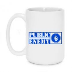Кружка 420ml Public Enemy - FatLine