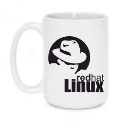 Кружка 420ml Redhat Linux - FatLine