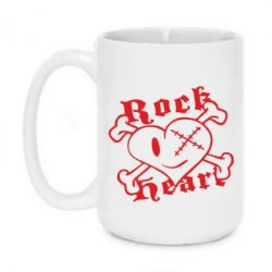 Кружка 420ml Rock Heart - FatLine